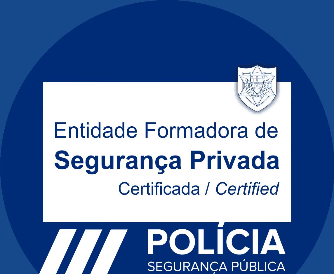 Segurinfo Entidade Formadora Segurança Privada Certificada PSP Novo Logo